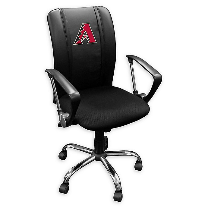 Alternate image 1 for MLB Arizona Diamondbacks Curve Task Chair