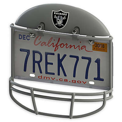 NFL Oakland Raiders Helmet License Plate Frame