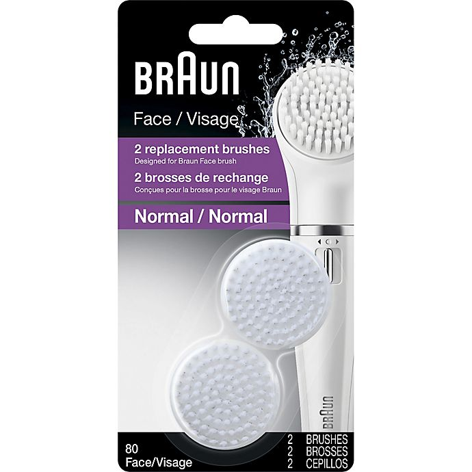 Alternate image 1 for Braun Face SE80 Replacement Brushes (Set of 2)