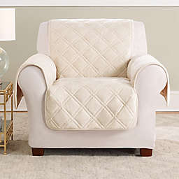 Sure Fit® Triple Protection Accent Chair Cover