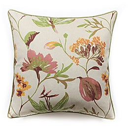 Hui Resource A Touch of Floral Square Throw Pillow
