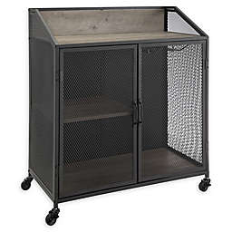Forest Gate 33 Willow Wood Bar Cabinet