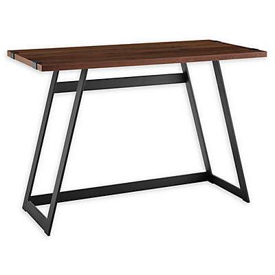 Forest Gate Sage Farmhouse Wood Metal Desk