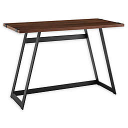 Forest Gate Sage Farmhouse Wood Metal Desk