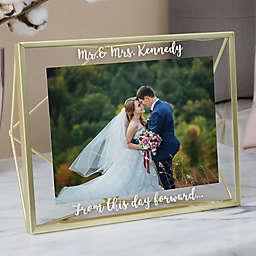 Wedding Memories 5-Inch x 7-Inch Prisma Picture Frame