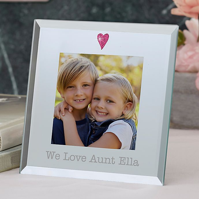 Alternate image 1 for For Her 3-Inch Square Mirror Picture Frame