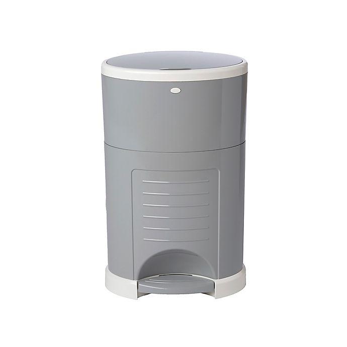 Alternate image 1 for Dékor® Plus Hands-Free Diaper Pail in Gray