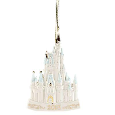 Lenox® 2018 Disney® Cinderella Castle Christmas Ornament