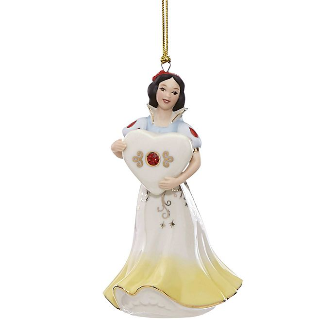 Lenox 174 Disney 174 Snow White Gem Christmas Ornament Bed