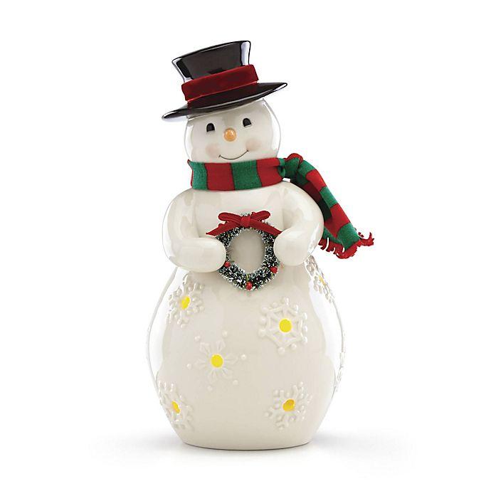 Alternate image 1 for Lenox® Merry & Light Snowman Figurine