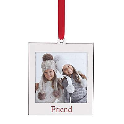 "Lenox® ""Friend"" 2-Inch x 2-Inch Frame Christmas Ornament"