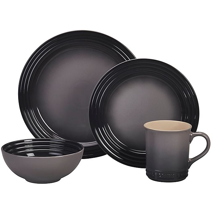 Alternate image 1 for Le Creuset® 16-Piece Dinnerware Set in Oyster