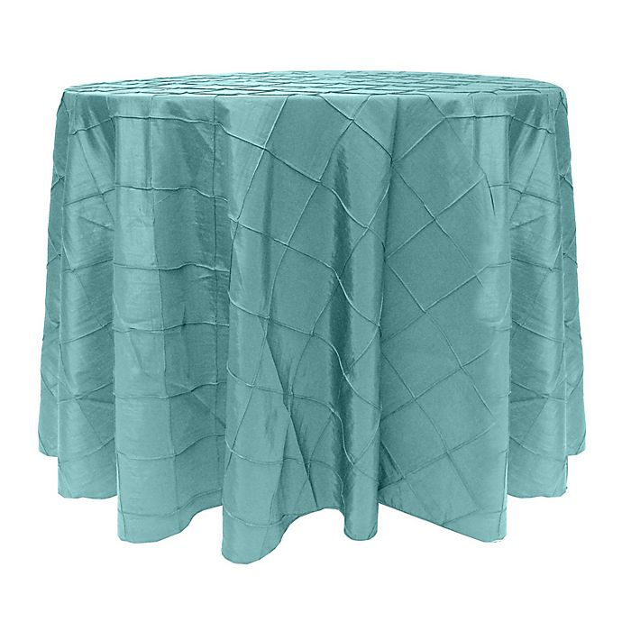Alternate image 1 for Ultimate Textile Bombay Diamond Stitched Round Tablecloth