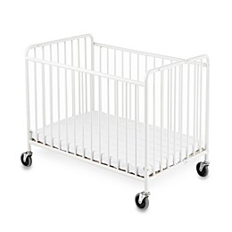 Foundations® StowAway™ Compact-Size Steel Folding Crib