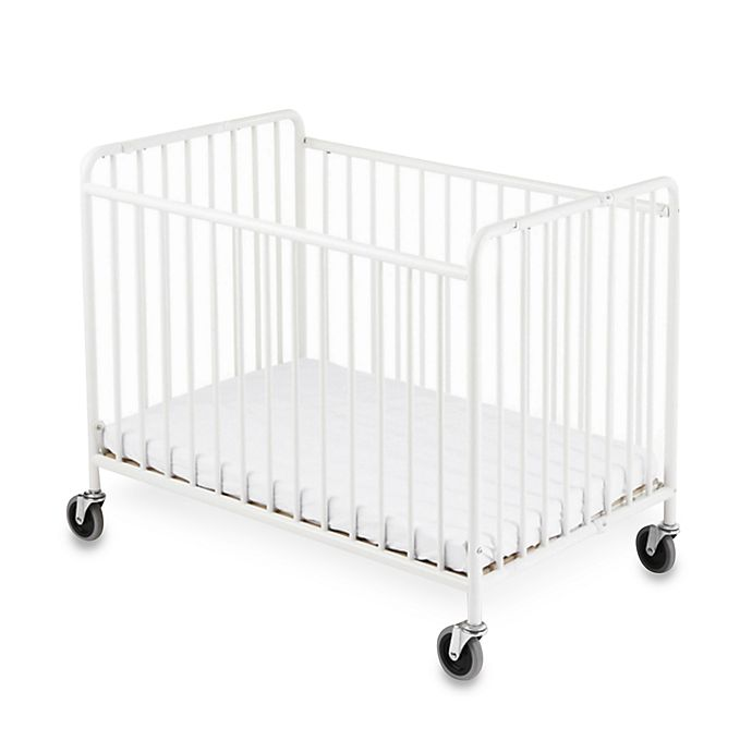 Alternate image 1 for Foundations® StowAway™ Compact-Size Steel Folding Crib