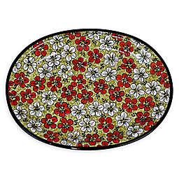 Pottery Avenue Polish Bacopa Dinner Platter