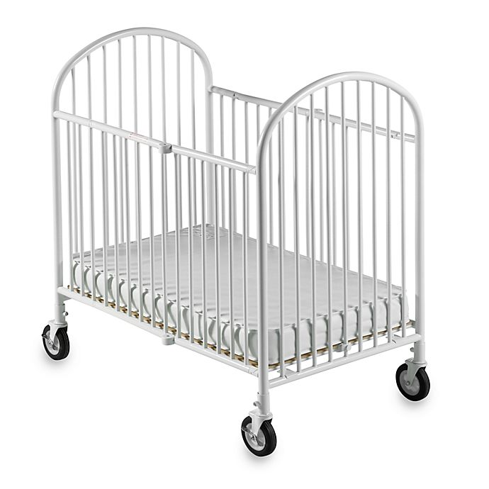 Alternate image 1 for Foundations® Pinnacle™ Compact Steel Folding Crib