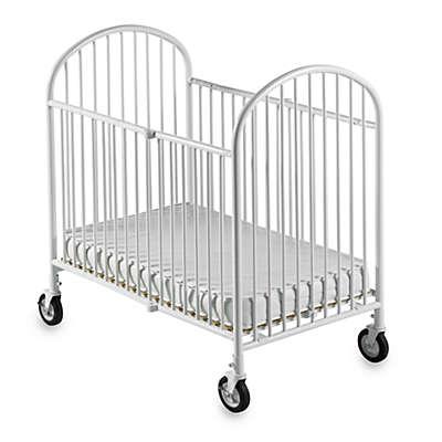 Foundations® Pinnacle™ Compact Steel Folding Crib