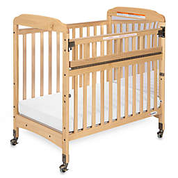 Foundations® Serenity® Compact SafeReach™ Mirror End Crib in Natural