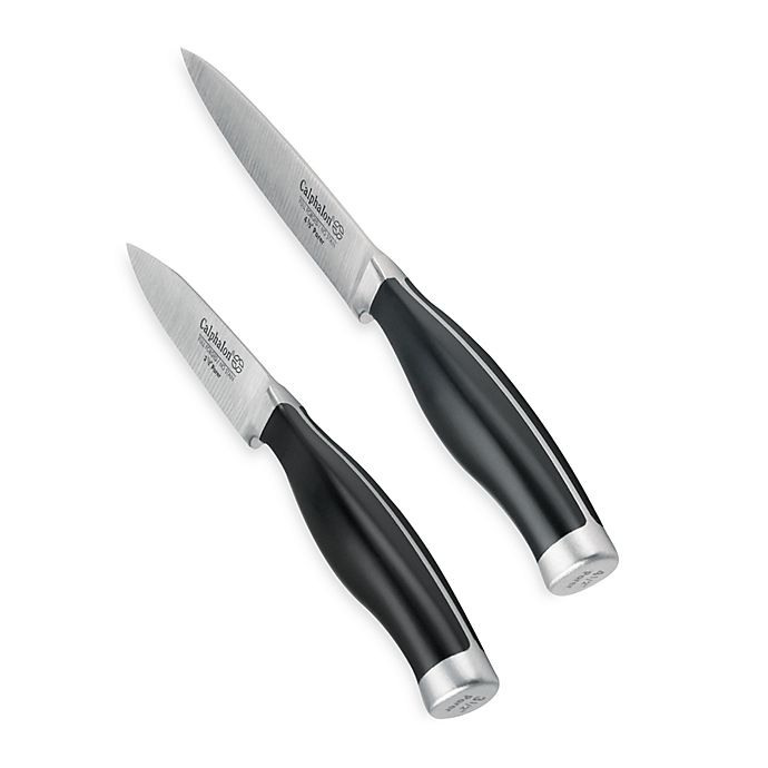 Alternate image 1 for Calphalon® Contemporary 3 1/2-Inch & 4 1/2-Inch Paring Knife Set