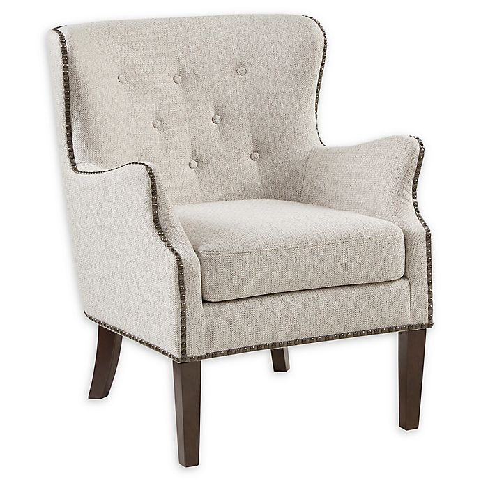 Alternate image 1 for Madison Park™ Solid Wood Construction Upholstered Makenna Chair