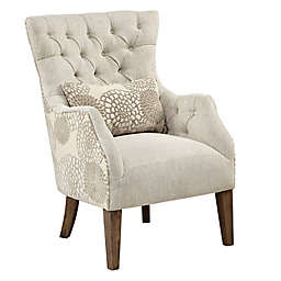 Madison Park™ Solid Wood Construction Upholstered Braun Chair