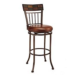 Hillsdale Furniture Metal Swivel Montero Bar Stool