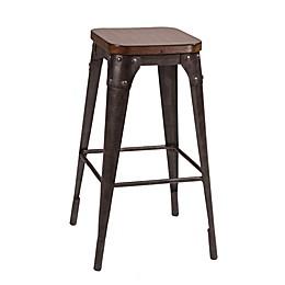 Hillsdale Furniture Metal Morris Bar Stool
