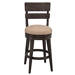 Hillsdale Furniture Wood Swivel Leclair Bar Stool