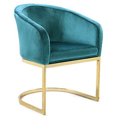 Chic Home Velvet Upholstered Lippi Chair