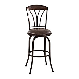 Hillsdale Furniture Faux Leather Swivel Marano Bar Stool