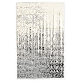 Unique Loom Jennifer Del Mar Rug in Grey