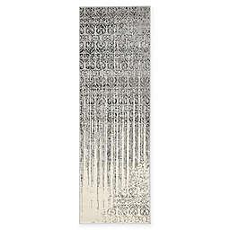 Unique Loom Jennifer Del Mar 2' x 6' Runner in Grey