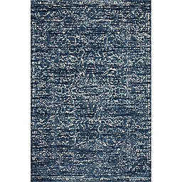 Magnolia Home By Joanna Gaines Lotus Rug in Blue/Cream