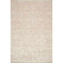 Magnolia Home By Joanna Gaines Lotus Rug in Ivory/Cream