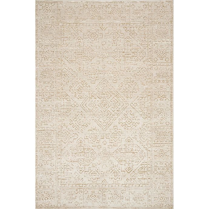 Alternate image 1 for Magnolia Home By Joanna Gaines Lotus 9'3 x 13' Area Rug in Ivory/Cream