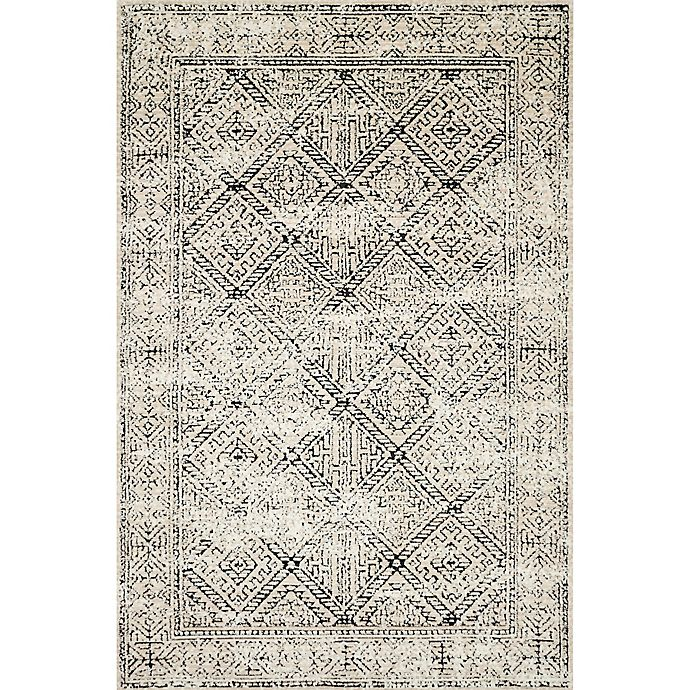 Alternate image 1 for Magnolia Home by Joanna Gaines Elliston 3'6 x 5'6 Area Rug in Ivory/Black