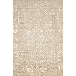 Magnolia Home by Joana Gaines Damask Rug in Sand/Ivory