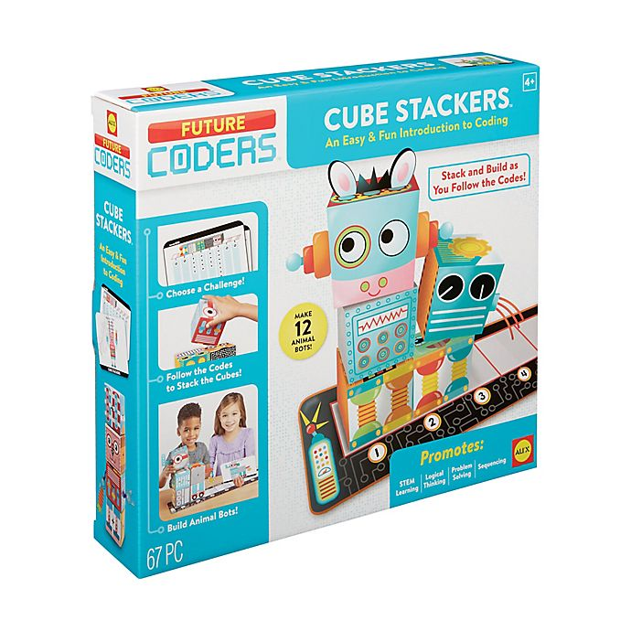 Alternate image 1 for ALEX Toys Future Coders Cube Stackers