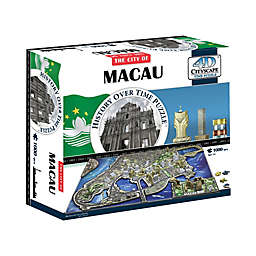 4D Cityscape Time 1000-Piece Macau, China Jigsaw Puzzle