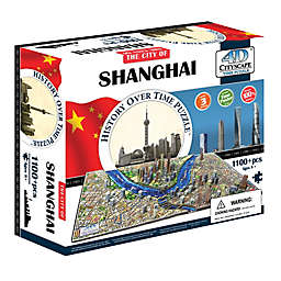 4D Cityscape Time Puzzle - Shanghai, China
