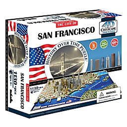 4D Cityscape Time San Francisco, USA Puzzle