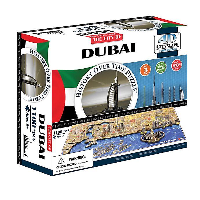 Alternate image 1 for 4D Cityscape Time Puzzle - Dubai, UAE
