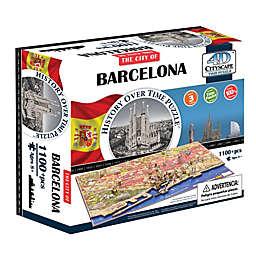 4D Cityscape Time Barcelona, Spain Puzzle