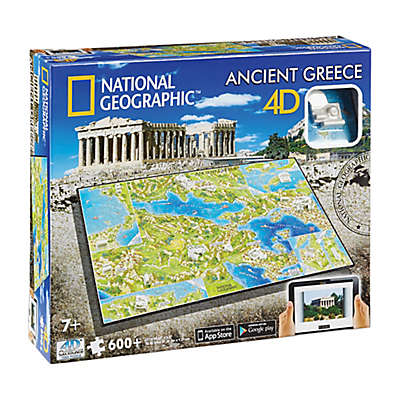 National Geographic™ 4D Cityscape™ 600-Piece Ancient Greece Time Puzzle