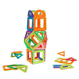 Hey! Play! 40-Piece Building Magnet Block Set