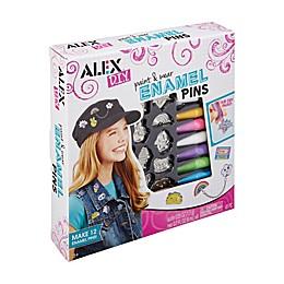 ALEX Toys DIY Paint & Wear Enamel Pins