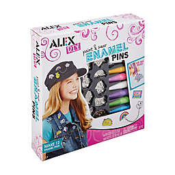 ALEX Toys DIY Paint & Wear Enamel Pins