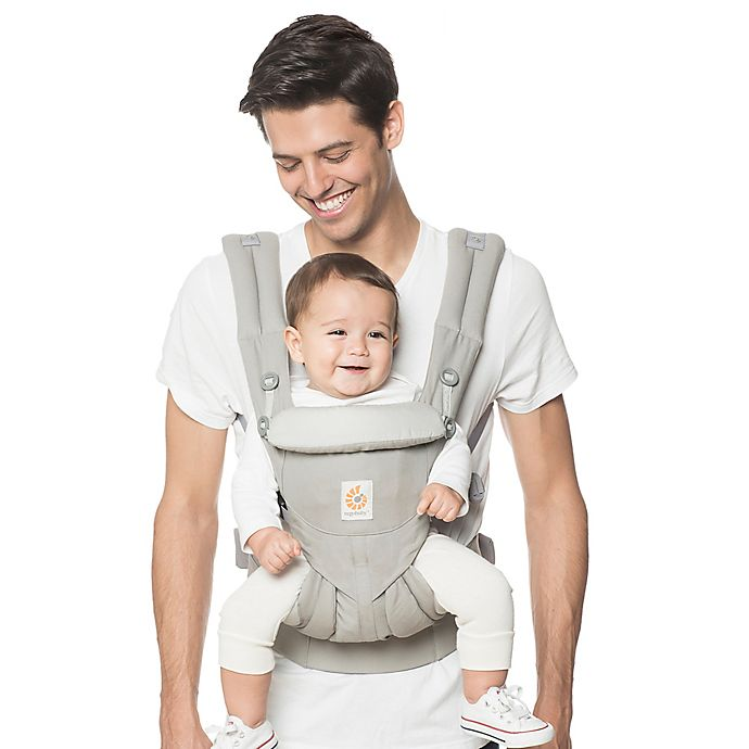 Alternate image 1 for Ergobaby™ Omni 360 Baby Carrier in Pearl Grey