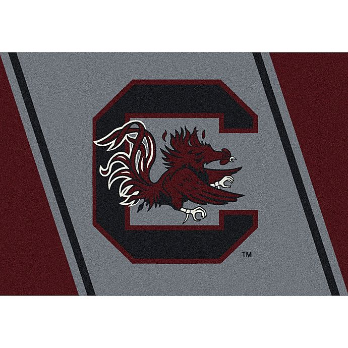 Alternate image 1 for University of South Carolina 7-Foot 8-Inch x 10-Foot 9-Inch Large Spirit Rug